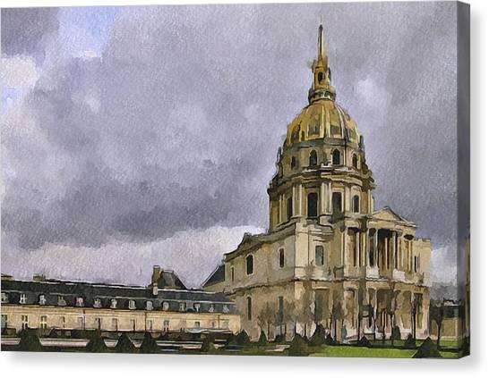 Paris 4 Canvas Print by Yury Malkov
