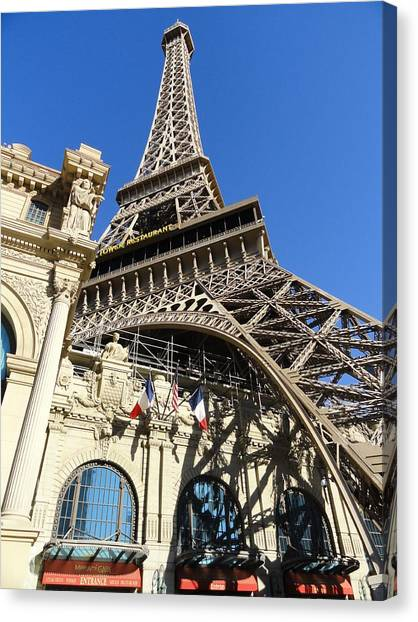 Paris Casino Canvas Print