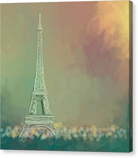 Paris Canvas Print - Paris by Cathy Walters