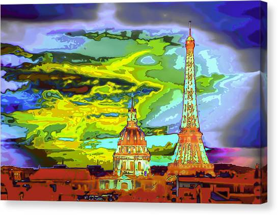 Paris - City Of Lights Canvas Print