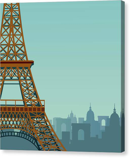 Paris Canvas Print by Drmakkoy