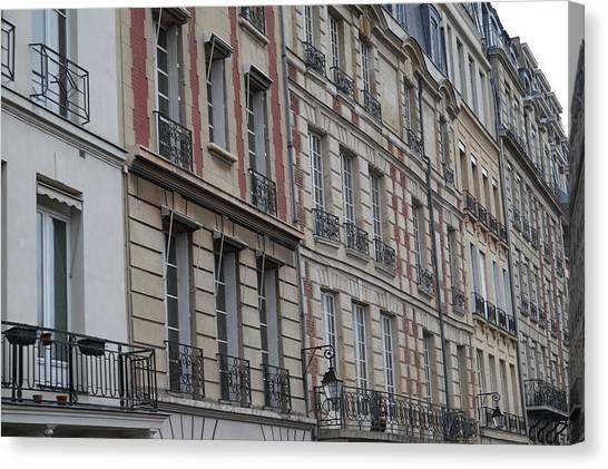 Paris France - Street Scenes - 011357 Canvas Print by DC Photographer