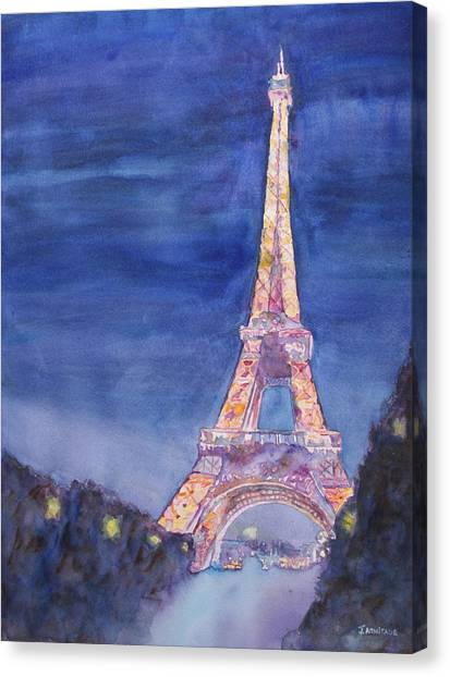 Paris Giant Canvas Print