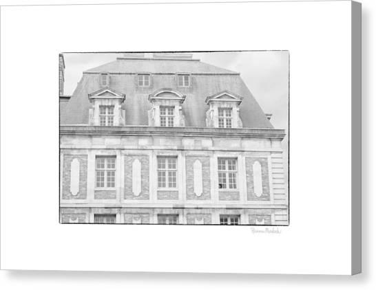 Paris House Canvas Print