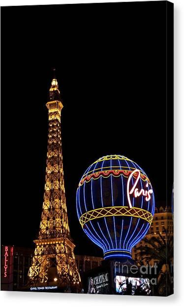Paris In Vegas Canvas Print