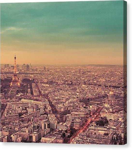 Travel Canvas Print - Paris Is Everything I Expected And So by Vivienne Gucwa