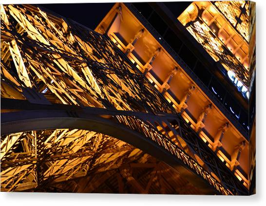 Paris Las Vegas Eiffel Tower Canvas Print