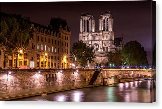Paris Notre Dame Canvas Print by Tomas Horvat