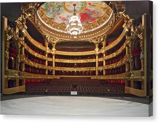 Paris Opera House 2 Canvas Print