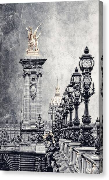 Pegasus Canvas Print - Paris Pompous 2 by Joachim G Pinkawa