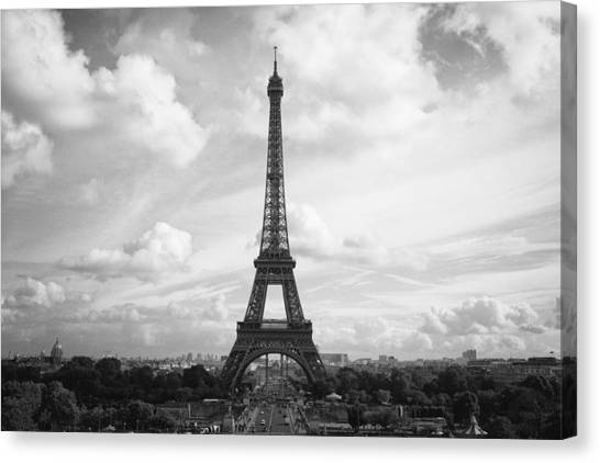 Canvas Print featuring the photograph Paris Scenery II by Stefan Nielsen
