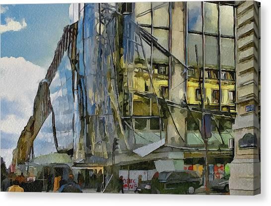 Paris Streets 3 Canvas Print by Yury Malkov