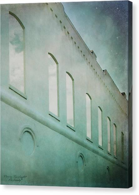 Paris Twilight Canvas Print