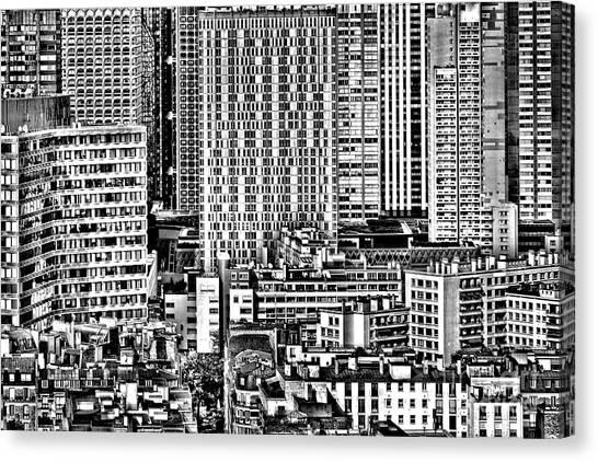 Parisian Canvas Print - Paris Urban by Olivier Le Queinec