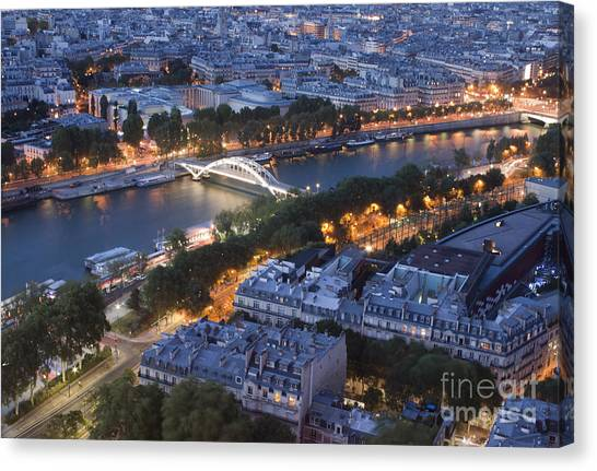 Paris View Canvas Print