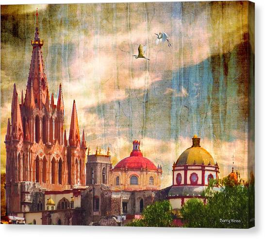 Parish Church Canvas Print