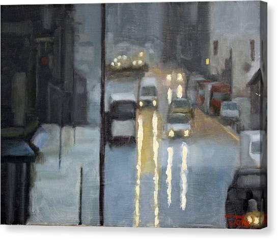 Parisian Storm Canvas Print