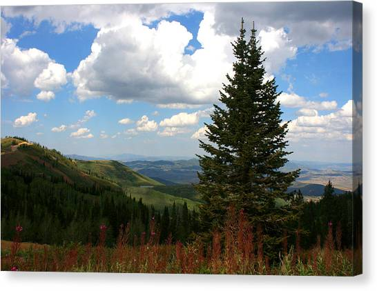 Park City Utah View Canvas Print by Darrin Aldridge