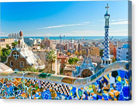 Park Guell - Barcelona Canvas Print