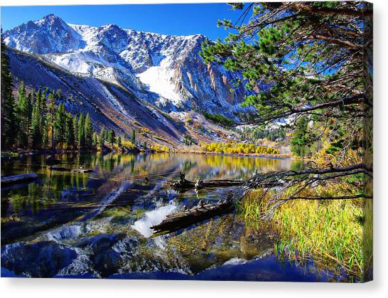 Ansel Adams Canvas Print - Parker Lake California by Scott McGuire