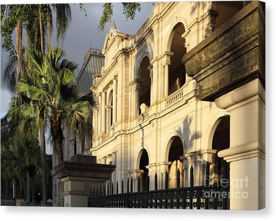 Parlament House In Brisbane Australia Canvas Print