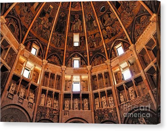 Parma Baptistery Canvas Print