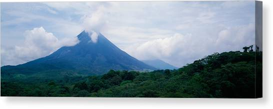 Arenal Volcano Canvas Print - Parque Nacional Volcan Arenal Alajuela by Panoramic Images