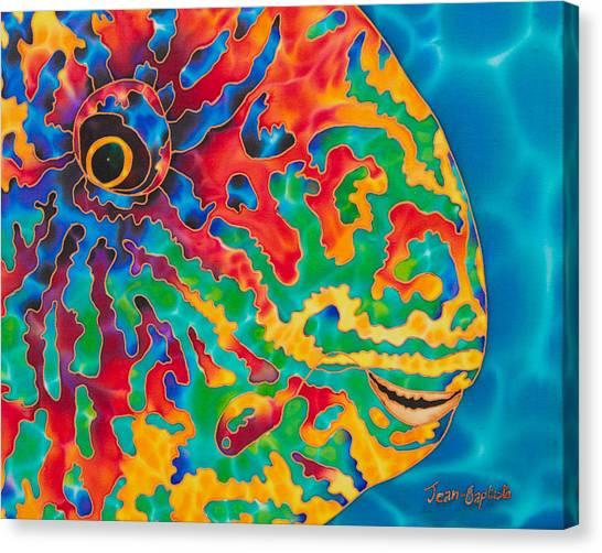 Parrotfish Canvas Print