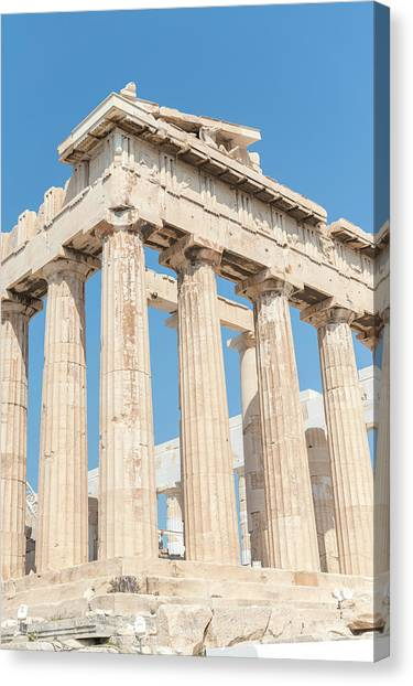 The Acropolis Canvas Print - Parthenon, Acropolis, Athens, Greece by Jim Engelbrecht