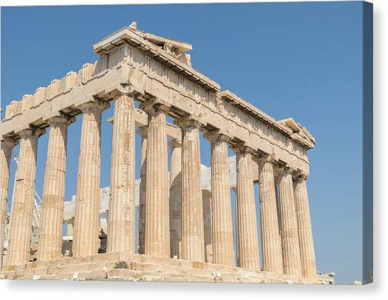 The Acropolis Canvas Print - Parthenon, Acropolis, Athens, Greece by Lisa S. Engelbrecht