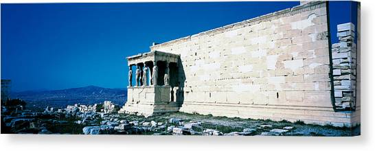 The Acropolis Canvas Print - Parthenon Complex Athens Greece by Panoramic Images