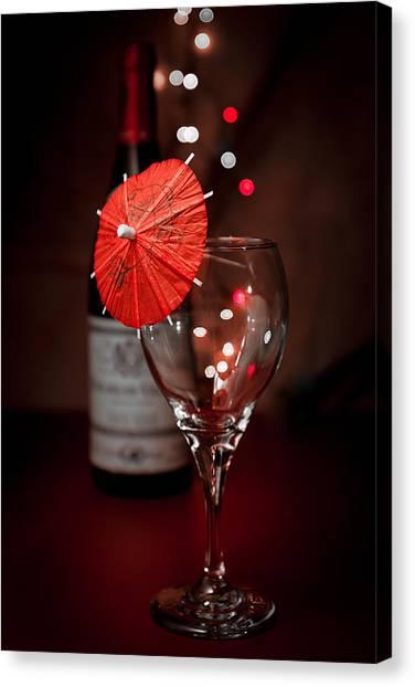 Liquids Canvas Print - Party Time Still Life by Tom Mc Nemar