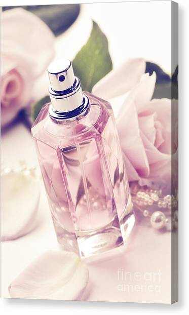 Parume Bottle Canvas Print