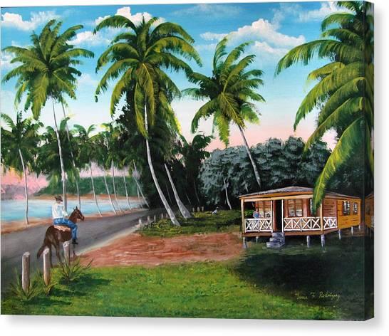 Paseo Por La Isla Canvas Print