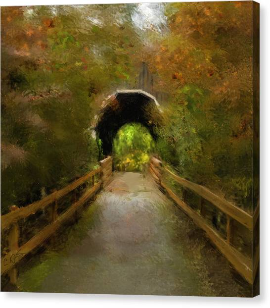 Pass Creek Bridge Canvas Print