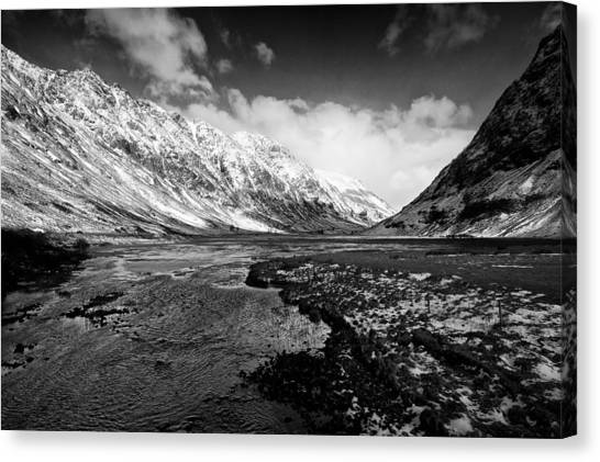 Pass Of Glencoe Canvas Print