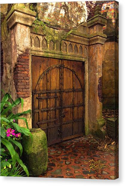 Passage To The Past Canvas Print