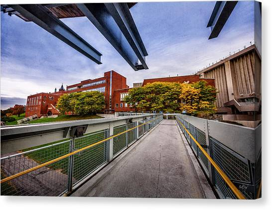 Syracuse University Canvas Print - Passage To Your Future by Everet Regal