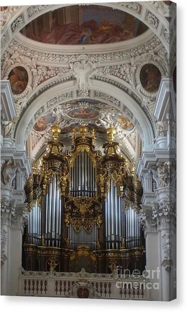 Passau Cathedral Saint Stephan 2 Canvas Print