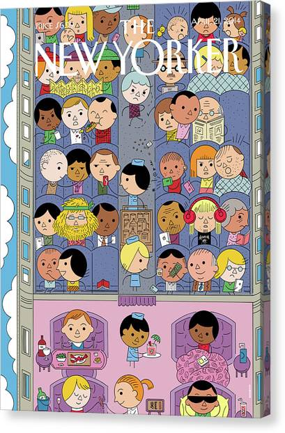 Getting There Canvas Print by Ivan Brunetti