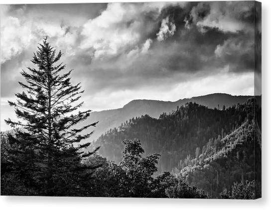 Passing Storm Canvas Print