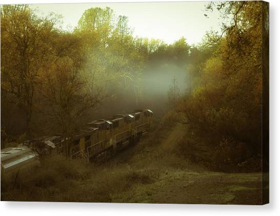 Passing Through Auburn Canvas Print