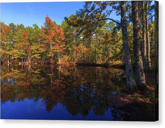 Arkansas Canvas Print - Passing Through by Chad Dutson