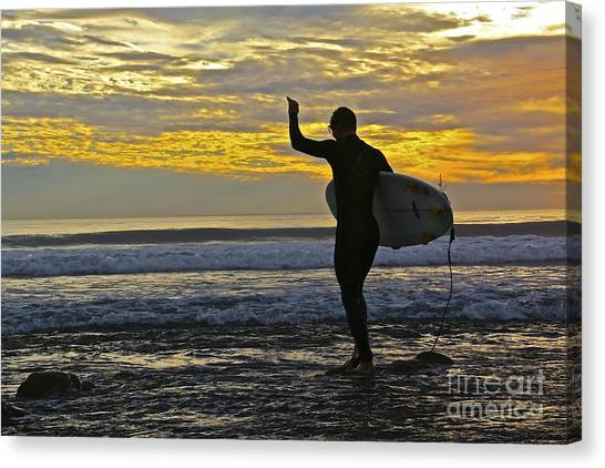 Ucsb Canvas Print - Passion by Heidi Peschel