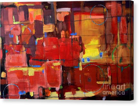 Passion Canvas Print by Kelly Athena