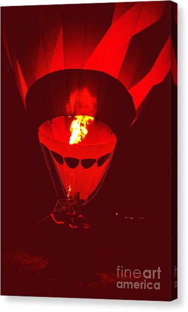 Passion's Flame Canvas Print