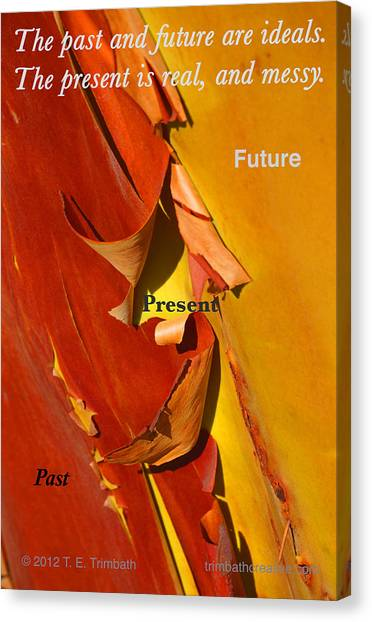 Past Present Future Canvas Print by Tom Trimbath