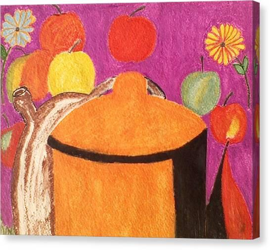 Pasta Pot II Canvas Print