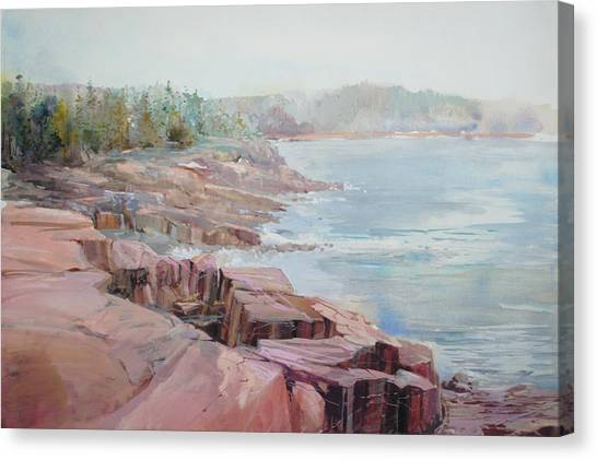 Pastel Cove Canvas Print