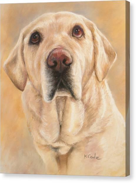 Pastel Portrait Canvas Print